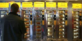 Vending Machine Amsterdam Gorgeous Fast Food Vending Machines In The Netherlands Contemporaneity