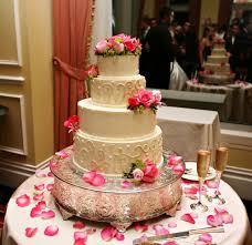 Nice Wedding Cake Bakers Baker Woman Decorates Wedding Cake Royalty