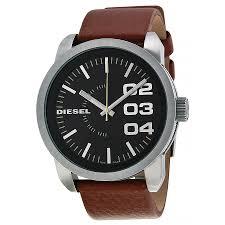 diesel black dial tan leather strap mens watch dz1513 698615076482 zoom diesel diesel black dial tan leather strap mens watch dz1513