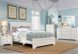Belcourt White 5 Pc King Panel Bedroom - King Bedroom Sets Colors