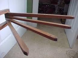 vintage wood wall mount drying rack 10