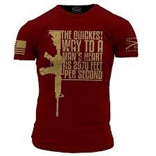 Grunt Style Quickest Way Mens T Shirt