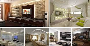 Small Picture 15 Modern TV Wall Design Home Interior Designs