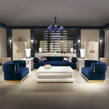 high end modern furniture. High End Modern Italian Designer Blue Velvet Sofa Furniture E
