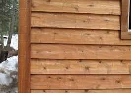 Ceder Siding Cedar Siding In South Cedar Log Siding Lowes