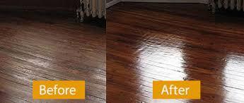 how to polish wood floors