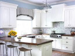 image of black and white kitchen curtains short