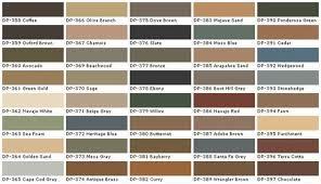 Behr Beige Color Chart Behr Deck Over Color Chart Behr Interior Paint Chart