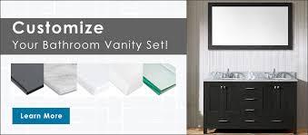 customize bathroom vanity