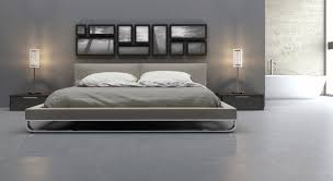 Bedrooms Design Ideas:Modern Minimalist Design Of The Modern Bed Frame That  Has Grey With