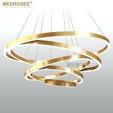 pendant lamp large rings led pendant lights gold hanging lamp for restaurant pendant lamp acrylic circle pendant lamp