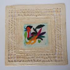 Amate Paper Designs Amate Paper Folk Art Medium Folk Art Embroidered Paper