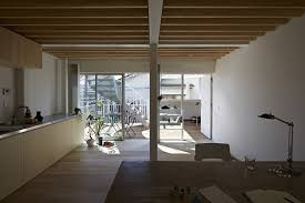 living in office space. the studio faces terrace and can be used as livingspace or office space living in