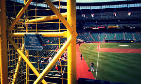 orioles seating chart and s lovely a close up of the original 1954 foul pole from