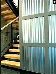 metal wall coverings for interior corrugated steel panels walls c