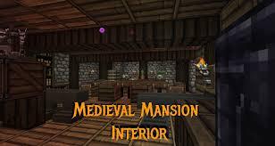 Minecraft Gundahar Tutorials Medieval Nordic House Interior  Idolza - Minecraft home interior