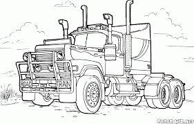 Disegni Da Colorare Grande Camion