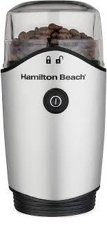 Το συγκεκριμένο χαρμάνι περιέχει μεγάλο ποσοστό από ποικιλίες arabica. Amazon Com Hamilton Beach Electric Coffee Grinder For Beans Spices And More Stainless Steel Blades Removable Chamber Makes Up To 12 Cups Silver Kitchen Dining