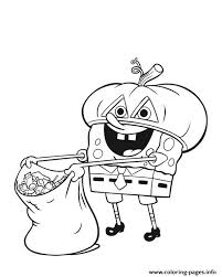 Nickelodeon Halloween S For Kidsf7a6 Coloring Pages Printable