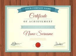 Sample Certificate Templates 25 Free Certificate Templates