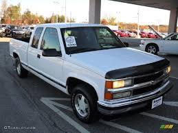 Olympic White 1997 Chevrolet C/K C1500 Silverado Extended Cab ...