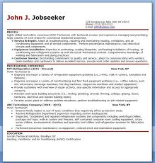 Hvac Technician Resume Sample Hvac Pinterest Sample Resume And