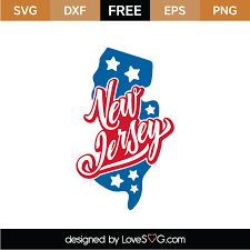 Weekly free svg cut file diy craft inspirations & videos 👇🏼✨click this link for more✨👇🏼 smart.bio/freesvgcaluyadesign. Free New Jersey Svg Cut File Lovesvg Com