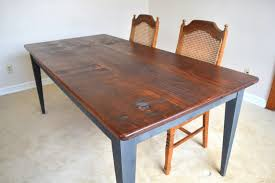 Kitchen Table Farmhouse Style Dining Table Rustic Farm Table