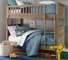 Charlie Twin-Over-Twin Bunk Bed | Pottery Barn Kids