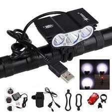 SolarStorm <b>12000LM</b> 3X T6 LED <b>USB</b> Cycling <b>Lamp</b> Bicycle Bike ...