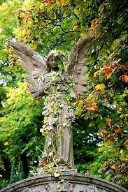 garden angel statues. Angelic ☫ Winged Cemetery Angels And Zen Statuary - Angel Statue In Garden Statues