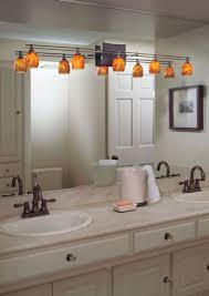 track lighting in a small bathroom