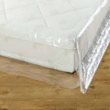 plastic mattress cover. GroundMaster Durable Mattress Cover Protective Plastic Storage Bed Bags M