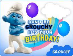 The Smurfs Birthday Ecard
