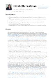 Instructional Technology Specialist Resume Samples Templates
