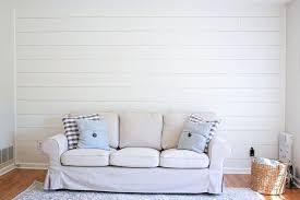 accent walls shiplap wall bedroom
