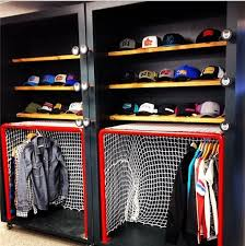 Cool Hockey Closet deff. going to be my new summer project.. I have