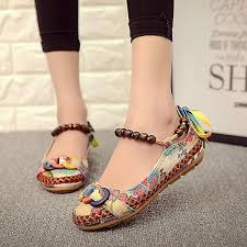 Socofy Size Chart Details About Genuine Socofy Women Casual Flats Beading Round Toe Colorful Comfortable Shoes