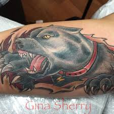 70 Pitbull Tattoo Designs Meanings For The Dog Lovers 2019