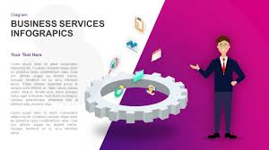 business services template business services infographics powerpoint template