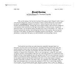 have at least one other person edit your essay about in cold blood in cold blood essays the benefit of analysis essay in cold blood essay in as
