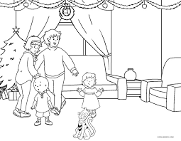 Caillou Coloring Pages To Free Download Jokingartcom Caillou
