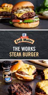 give your burger recipe a kick with grill mates montreal steak seasoning for epic flavor in less than 20 minutes