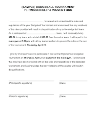 Field Trip Permission Slip Template High School Parental Consent Form Template