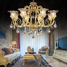 luxury modern the copper chandeliers crystal chandelier living room lights restaurant retro ceiling lamps led res de cristal ship chandelier cage