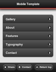 Beautifully Designed Jquery Mobile Templates Android Apps