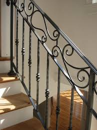 Stairs, Mesmerizing Wrought Iron Railing Cost Cost Of Wrought Iron Stair  Railing Black Iron Railing