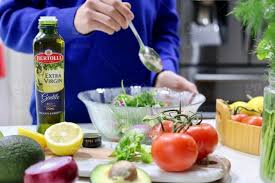 Kitchen counter with food Granite Stock Photo Cooking Kitchen Healthyeating Salad Healthyfood Creative Market Cooking Kitchen Healthyeating Salad Healthyfood Oliveoil