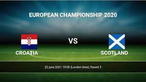 Croatia vs Scotland H2H 22 jun 2021 ...