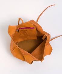 fashionable handbags mini handbag in orange
